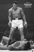 Muhammad Ali (v Liston Portrait) art print