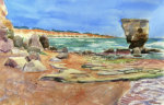 Beach, Algarve giclee art print