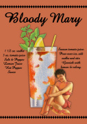 Bloody Mary Cocktail giclee art print