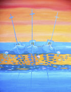 Fishing Boats giclee art print