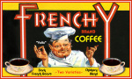 Frenchy Coffee giclee art print