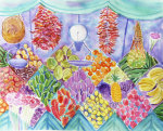 Fruit Market giclee art print