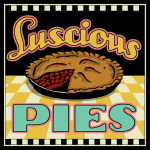 Lucious Pies giclee art print