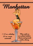 Manhattan Cocktail giclee art print