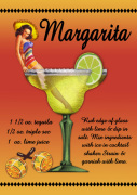 Margarita giclee art print