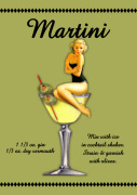 Martini giclee art print