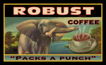 Robust Coffee giclee art print