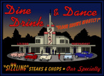 Stans Night Diner giclee art print