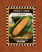 Sweet Corn Seed Pack giclee art print