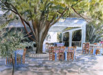 Taverna on the beach giclee art print
