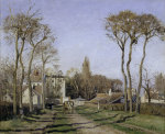 Entrance to the village of Voisins giclee art print