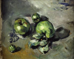 Green apples giclee art print