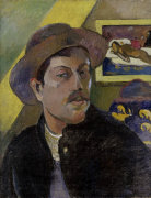 Paul Gauguin self-portrait giclee art print