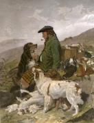 Scotch Gamekeeper (Restrike Etching) art print