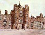 St. James Palace (Restrike Etching) art print