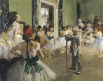 The Dancing Class, c.1873 giclee art print