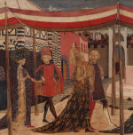 Wedding of Boccaccio and Lisa Ricasoli giclee art print