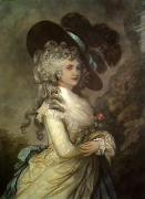 Duchess of Devonshire (Restrike Etching) art print
