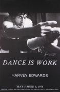 Dance is Work, signed art print