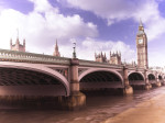 England, London, Westminster bridge giclee art print