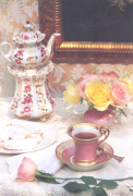 High Tea-signed art print