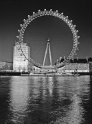 London Eye Millennium Wheel Night giclee art print