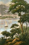 Lake Geneva (Restrike Etching) art print