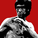 Bruce Lee giclee art print