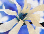 Symphony in Blue & White giclee art print