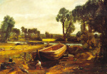 Boatbuilding Near Flatford art print