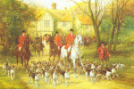 The Start At The Manor art print