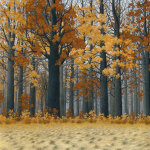 Autumn Wood giclee art print
