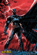 Batman Comic - Red Rain art print
