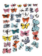 Butterflies, 1955  (many varied colors) giclee art print
