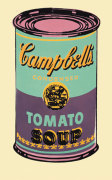 Campbell's Soup Can, 1965 (green & purple) giclee art print