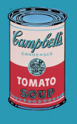 Campbell's Soup Can, 1965 (pink & red) giclee art print