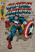 Captain America - Retro art print