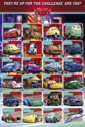 Cars 2 - Profiles art print