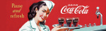 Coca Cola - Advert art print