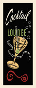 Cocktail Lounge giclee art print
