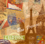 Destination, Europe art print