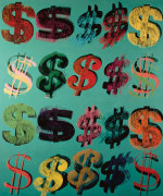 Dollar Signs, 1981 (multi) giclee art print