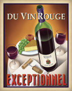 Du Vin Rouge Exceptionnel giclee art print