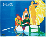 East Coast by LNER - Boating art print