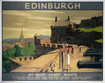 Edinburgh - Castle Battlements art print