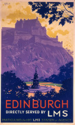 Edinburgh - Castle art print
