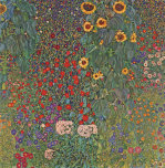 Farm Garden with Sunflowers, around 1905 1906 giclee art print