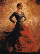 Flamenco II art print