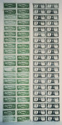 Front and Back of Dollar Bills, 1962 giclee art print