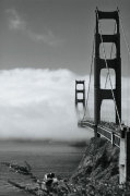 Golden Gate Fog giclee art print